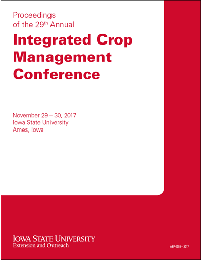 Proceedings of the 29th Annual Integrated Crop Management Conference