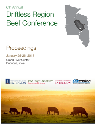 2018 Driftless Region Beef Conference proceedings