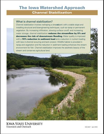 The Iowa Watershed Approach - Channel Stabilization