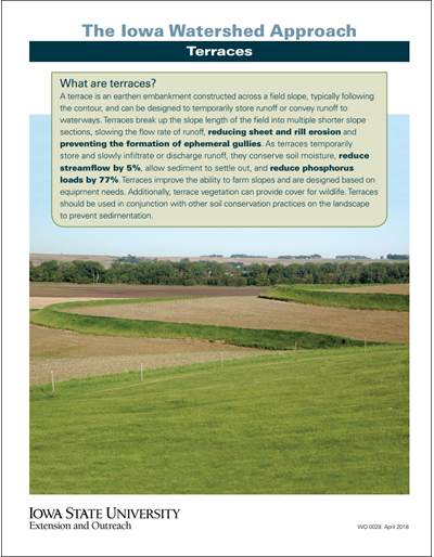 The Iowa Watershed Approach - Terraces
