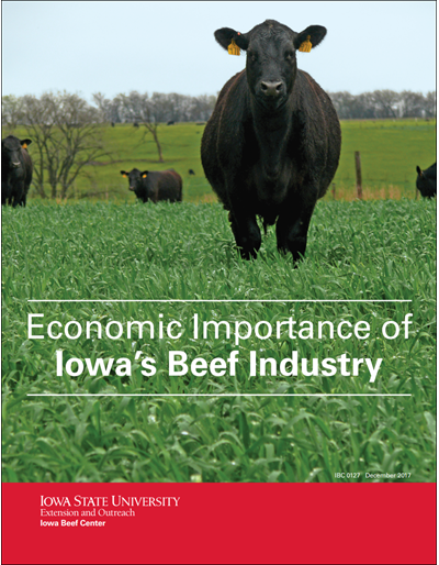 Economic Importance of Iowa's Beef Industry