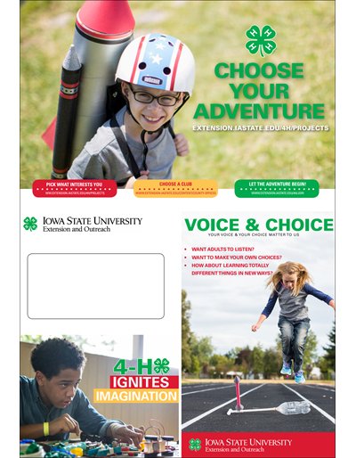 Choose Your Adventure Brochure (Unit=Pkg of 25)