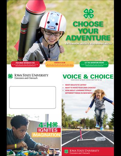 Choose Your Adventure Brochure (Unit=Pkg of 25)
