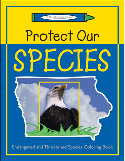 Protect Our Species -- Endangered and Threatened Species Coloring Book