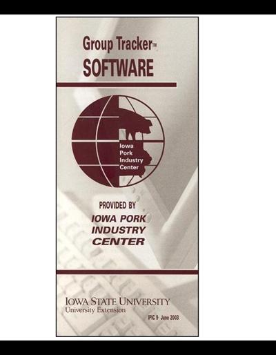 Group Tracker Software -- Iowa Pork Industry Center brochure