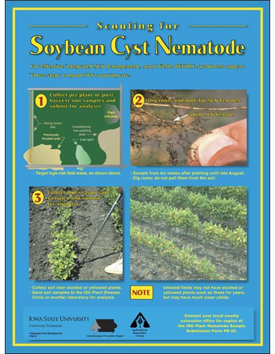 Scouting for Soybean Cyst Nematode (mini poster)