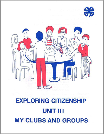 My Clubs and Groups -- Exploring Citizenship Unit III (Youth) for Juniors -- Year 3