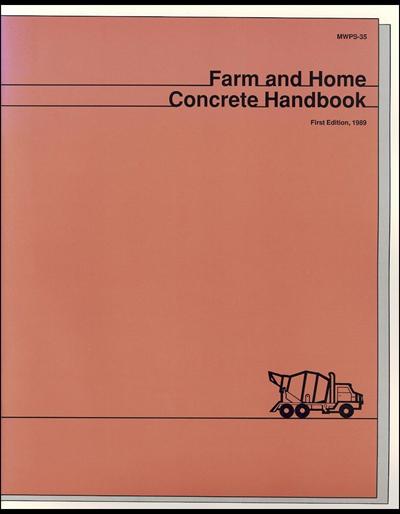 Farm and Home Concrete Handbook