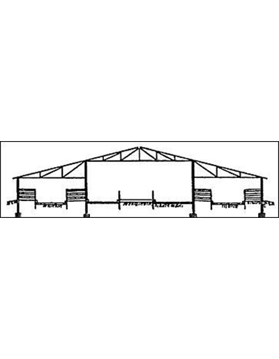 76'  Dairy Barn, 100 Free Stalls