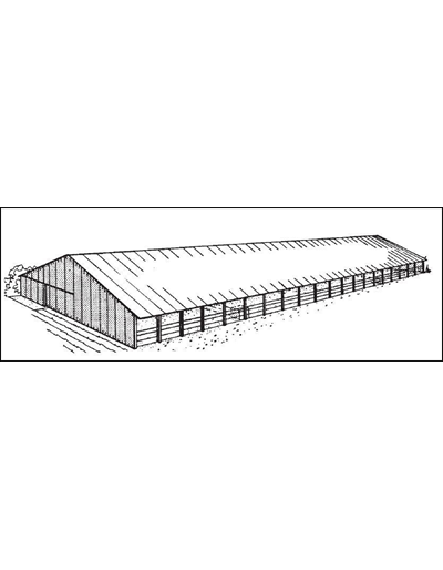 48' Confined Beef Barn