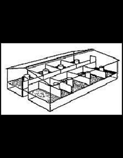 Single Row Farrowing House