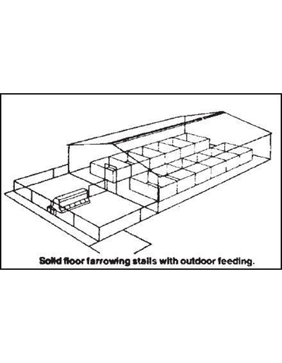 12 Sow Farrowing House