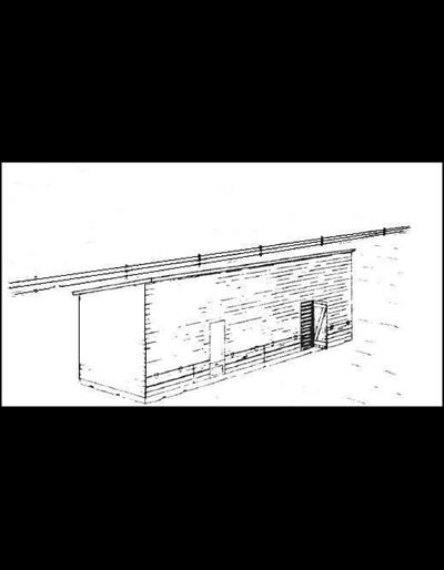 Single Frame Corn Crib