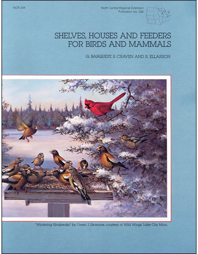 Shelves, Houses, and Feeders for Birds and Mammals