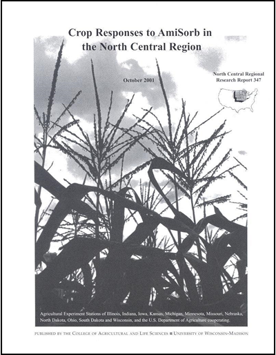 Crop Responses to AmiSorb in the North Central Region