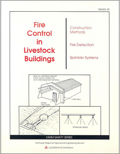 Fire Control in Livestock Buildings