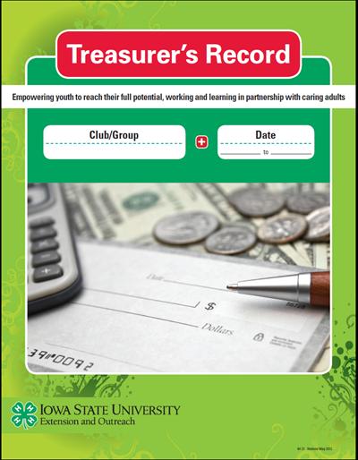 Iowa 4-H Treasurer's Record