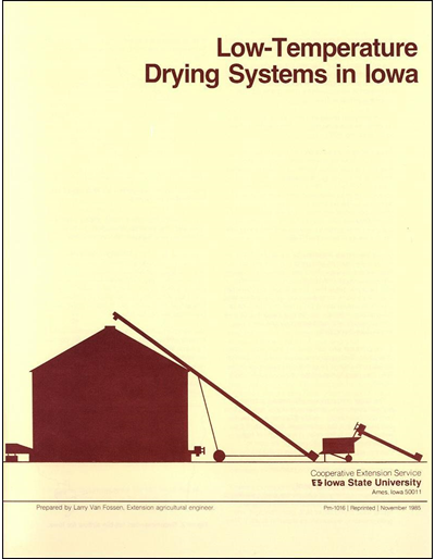 Low Temperature Drying Systems in Iowa