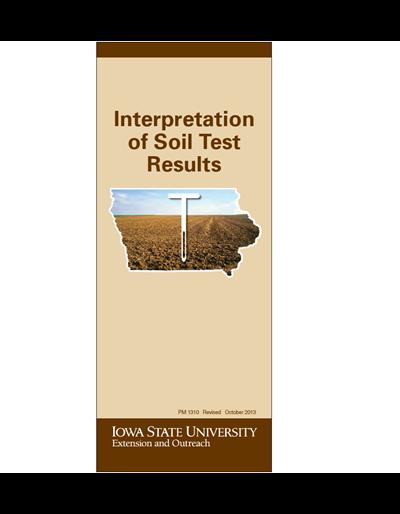 Interpretation of Soil Test Results