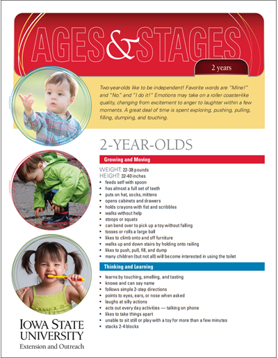 2-Year-Olds -- Ages and Stages