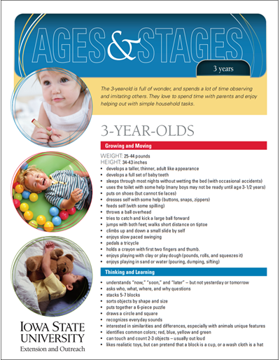 3-Year-Olds -- Ages and Stages