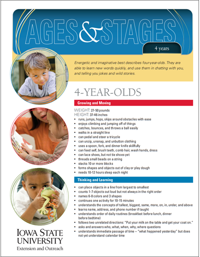 4-Year-Olds -- Ages and Stages