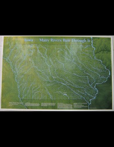 Iowa: Many Rivers Run Through It -- Poster