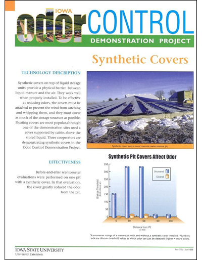 Synthetic Covers - Iowa Odor Control Demonstration Project