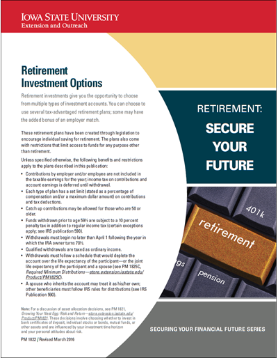 Retirement Investment Options -- Retirement: Secure Your Future