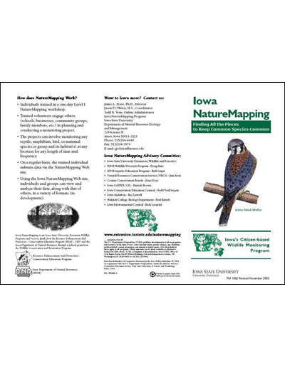 Iowa Nature Mapping -- Finding All the Pieces