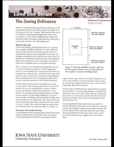The Zoning Ordinance -- Land Use Series
