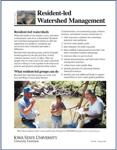 Resident-led Watershed Management