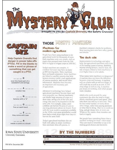 Those Mighty Machines -- The Mystery Club