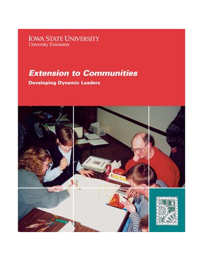 Developing Dynamic Leaders -- Extension to Communities