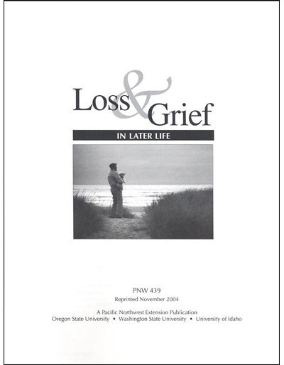 Loss and Grief in Later Life