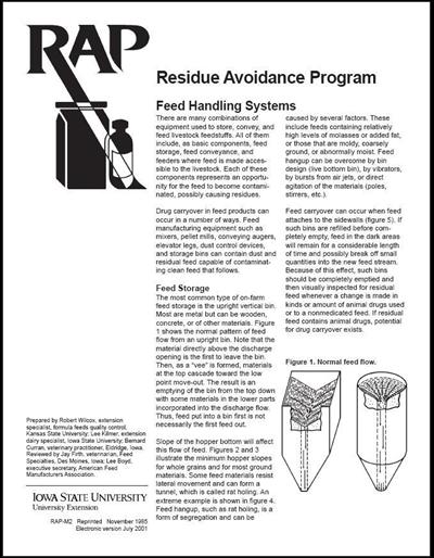 Feed Handling Systems - RAP (Residue Avoidance Program)