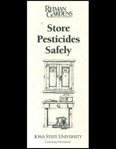 Store Pesticides Safely -- Reiman Gardens