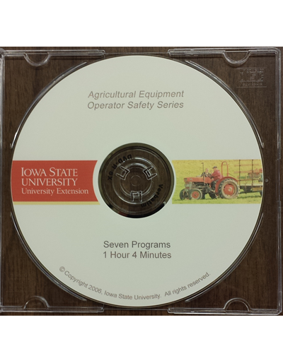 Agricultural Equipment Operator Safety DVD