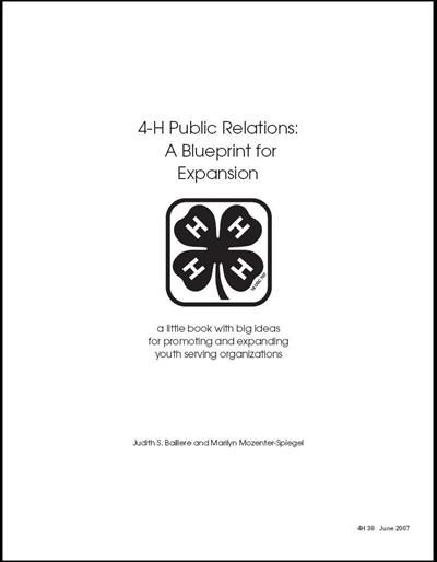 4-H Public Relations: A Blueprint for Expansion