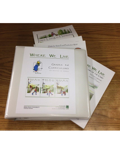 Where We Live -- Grades 4-6 Curriculums for Educators and Students