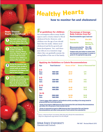 Healthy Hearts: How to Monitor Fat and Cholesterol