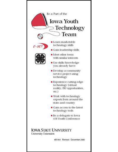 Be a part of the Iowa Youth Technology Team