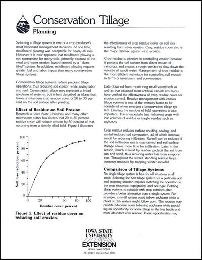 Planning -- Conservation Tillage
