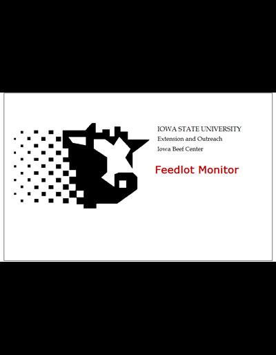 ISU Beef Feedlot Monitor Software
