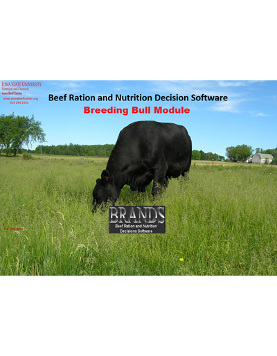 BRaNDS - Breeding Bull Module