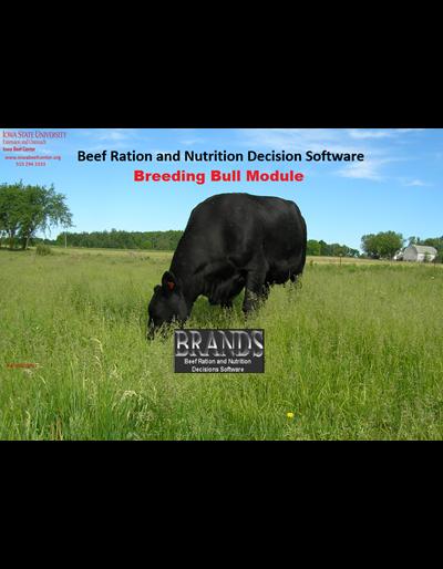 BRaNDS - Breeding Bull Module