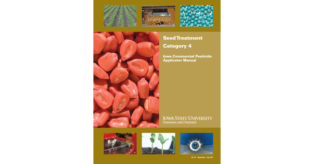 Category 4 Seed Treatment Iowa Commercial Pesticide Applicator