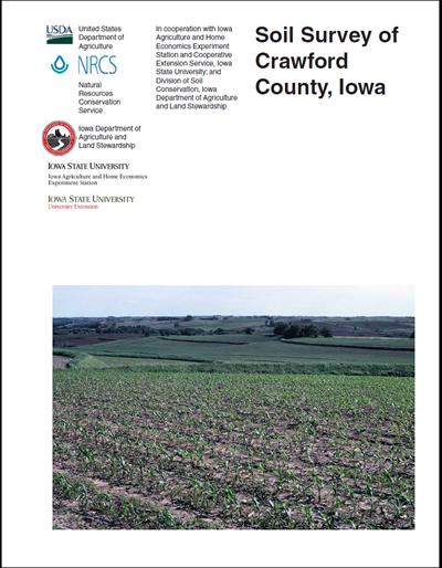 Crawford county iowa soil survey digital version for Soil web survey