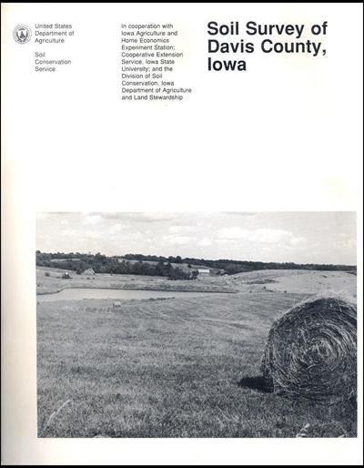 Davis county iowa soil survey digital version for Soil web survey