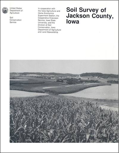 Jackson county iowa soil survey digital version for Soil web survey